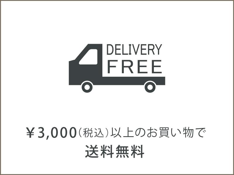 3000円以上で全国送料無料